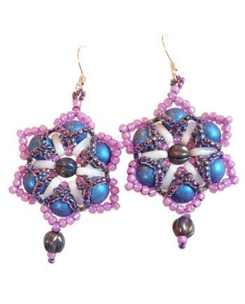 Delicate Daisies Earrings pattern