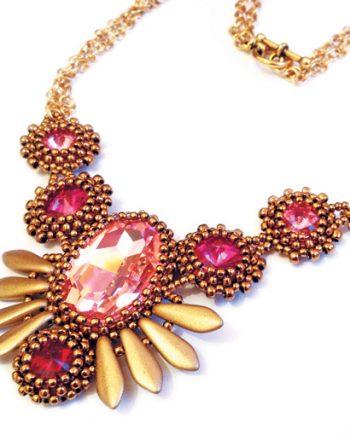 Aztec Wings necklace pattern