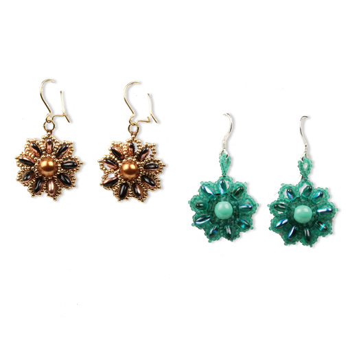 Rizo earrings pattern