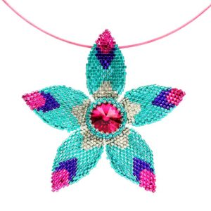 Star Flower Pendant pattern