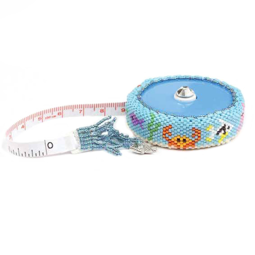 Beaded Tape Measure