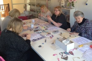Pinkhot workshop taking place