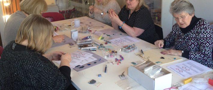 Pinkhot workshop taking place