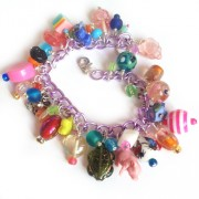 Rainbow charm bracelet kit