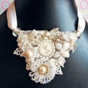 Frosty Bridal Collar