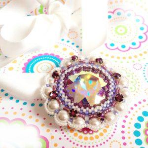 Floral fiesta wedding necklace