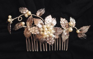 Lorne's wedding - sparkling crystal hair comb
