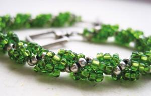Spiral Stitch Bracelet workshop