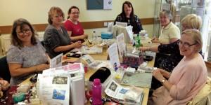 Tiaras and fascinators workshop at Stitchncraft Beads