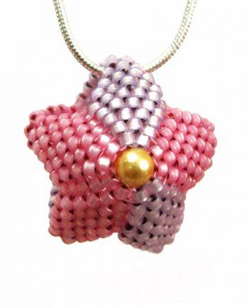 Powder Puff Necklace