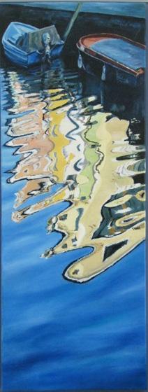 Christine Dear - Burano reflection