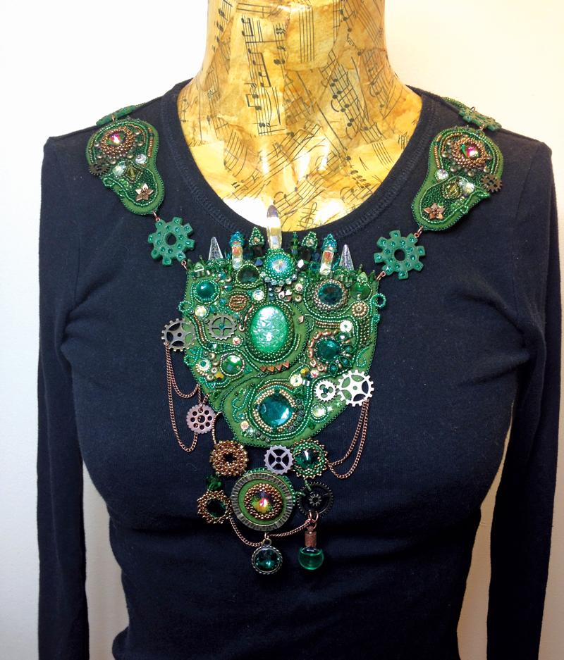 Emerald City necklace