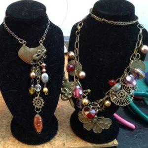 Fiona Alexander - steampunk jewellery