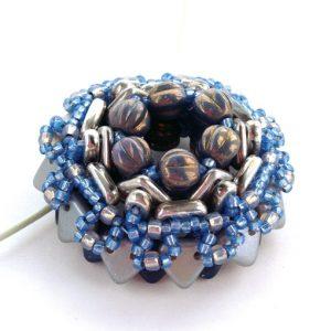 Kaleidoscope - blue