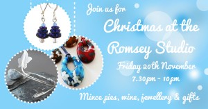 Christmas Jewellery party, Hampshire