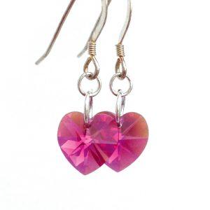 earrings-heart-fuchsia