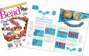 Bead magazine Issue 47 - Chunky kyanite chain