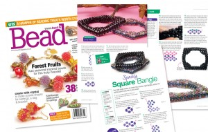 Bead magazine Issue 43 - Square Bangle