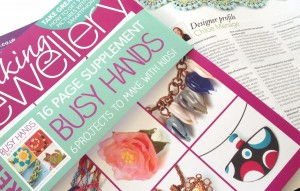Making Jewellery Issue 78 (April 2015) - Artist profile