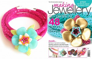 Making Jewellery issue 81 (June 2015) - Aloha Petals
