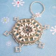 Tila Snowflake pattern - white