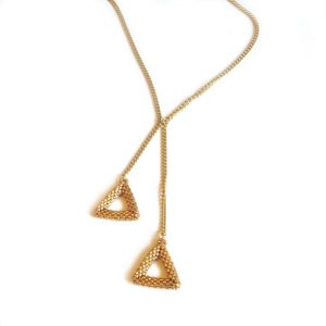 Emily Triangles necklace pattern