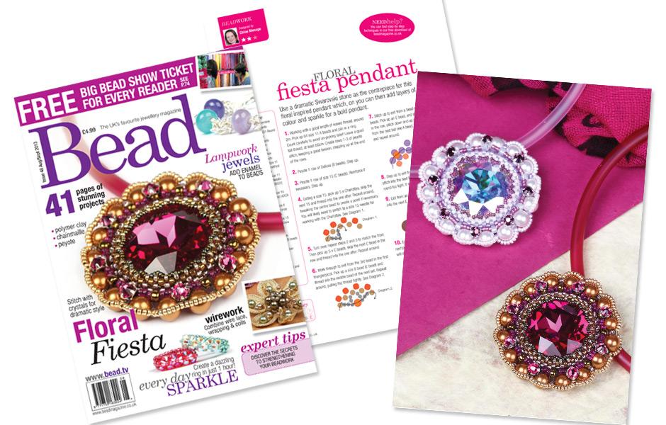 Bead magazine Issue 48 - Floral Fiesta