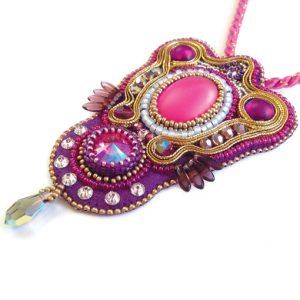 Sari Pendant Workshop pink
