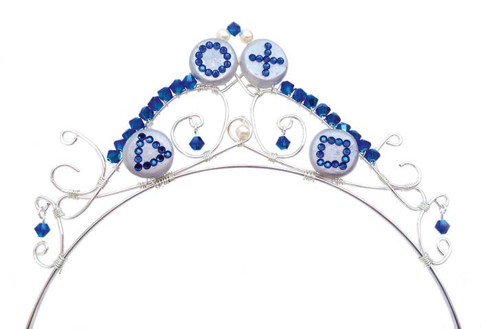 Laura's Playstation tiara