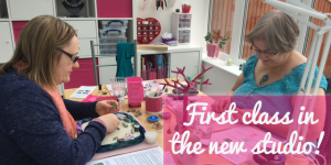 First workshop in the new studio - blog