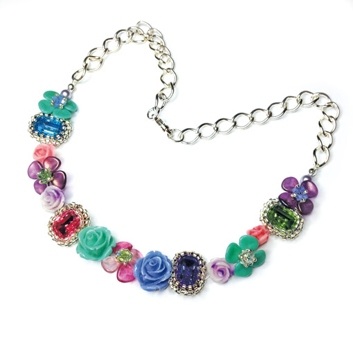 Crystal Garden Necklace pattern