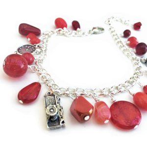 Red charm bracelet kit