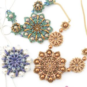 Chloe Menage - Mandalas, as seen in Making Jewellery magazine