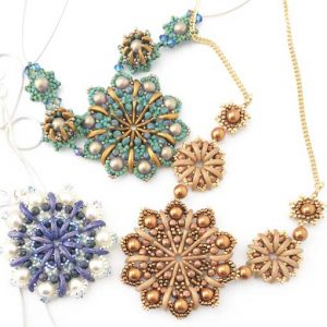 Crescent Mandalas Necklaces
