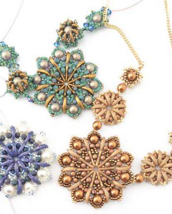 Crescent Mandalas Necklaces