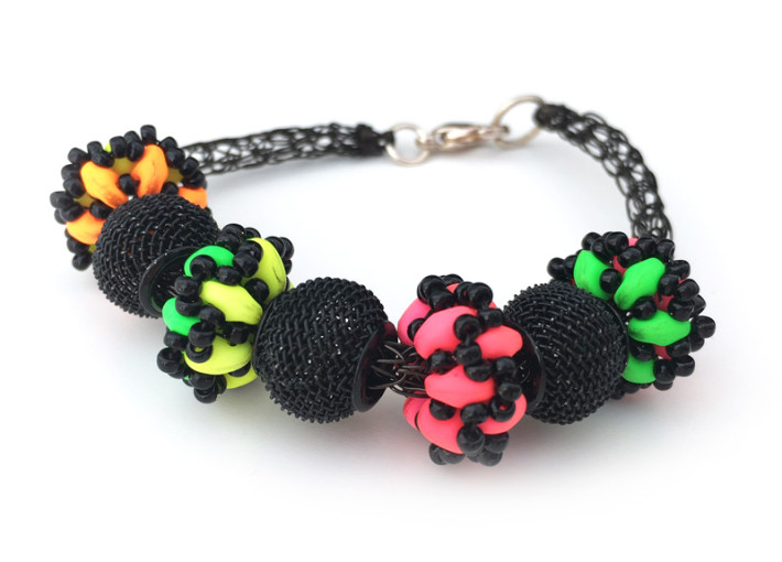 Disco Beads Make and Take with Chloe Menage at the Bead Shop Nottingham