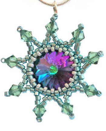 Handmade Starburst Pendant - Neptune