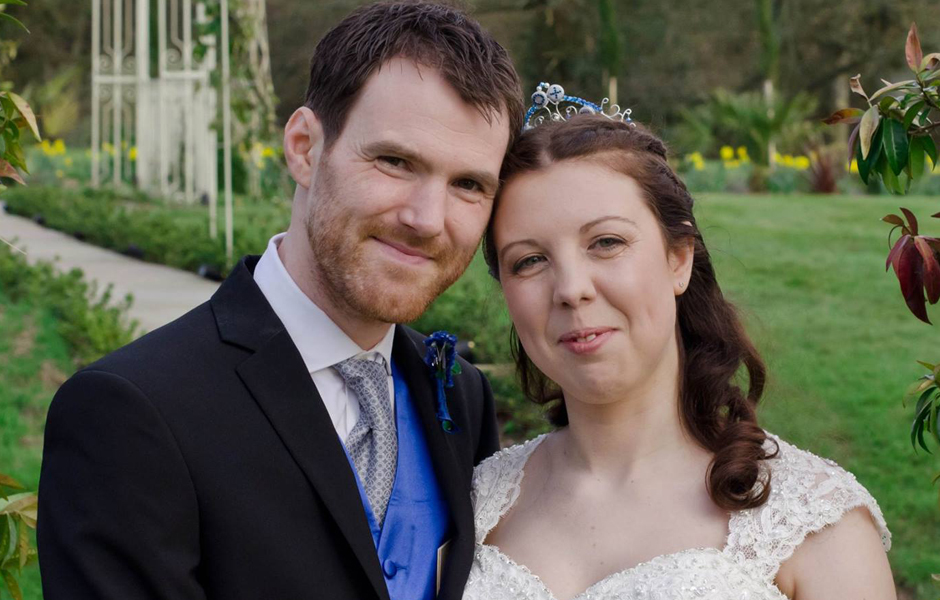 Laura's Playstation themed wedding tiara - Photography by Laura Brown