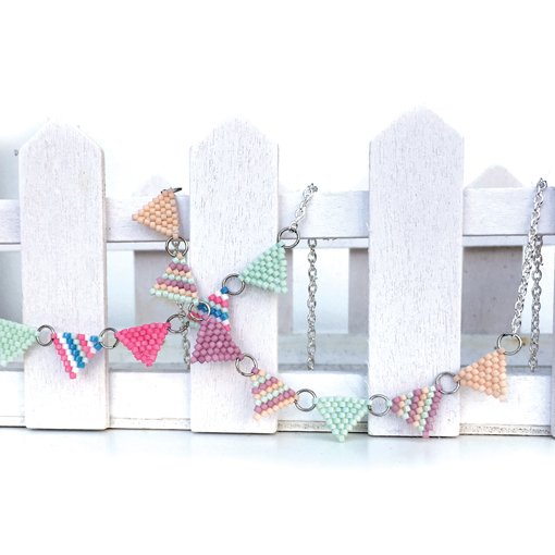 Vintage Beaded Bunting workshop with Chloe Menage at Ashcroft Arts Centre