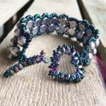 Amorini Bracelet with heart shaped toggle clasp