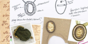 The design secrets behind Chloe Menage's Jane Austen inspired beading kits