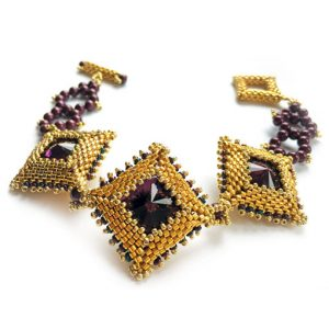 Diamondology geometric beading tutorial
