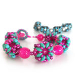 Super Bubbles Bracelet - beading workshop with Chloe Menage at Pavilion on the Park