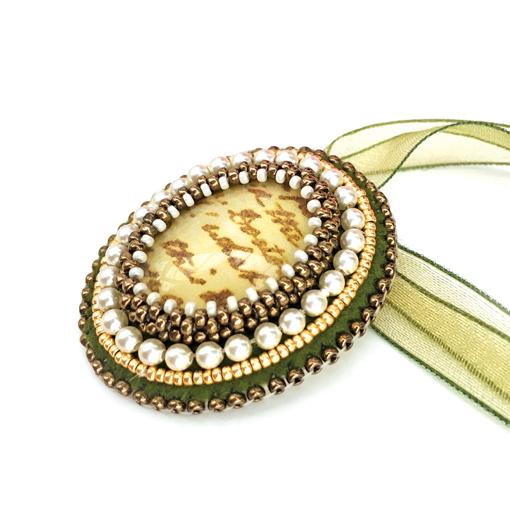 Jane Austen's Pendant - Beading Kit