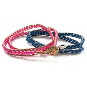 Wrap bracelet workshop with Chloe in Eastleigh