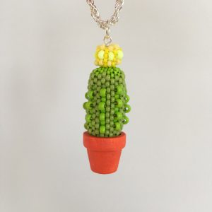Beaded Cacti Workshop with Chloe Menage