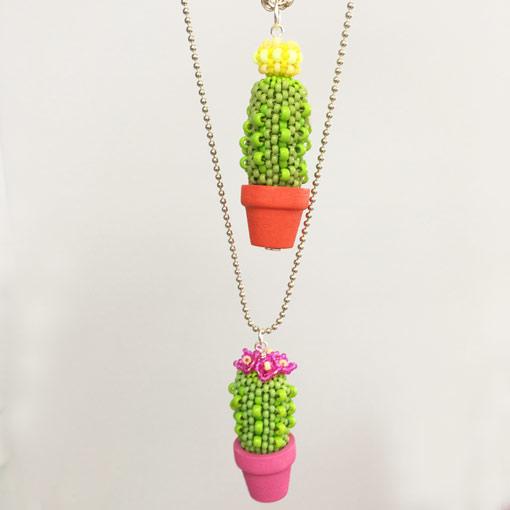 Beaded Cacti workshop with Chloe Menage