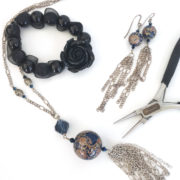 Intermediate beaded jewellery making workshop with Chloe Menage
