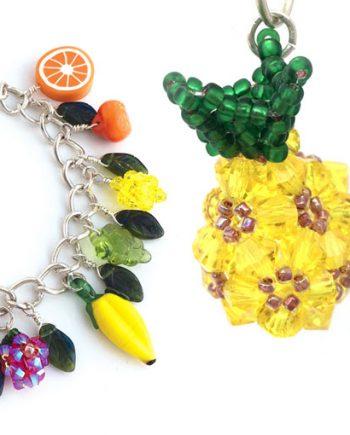 Fruit Punch crystal beadweaving pattern