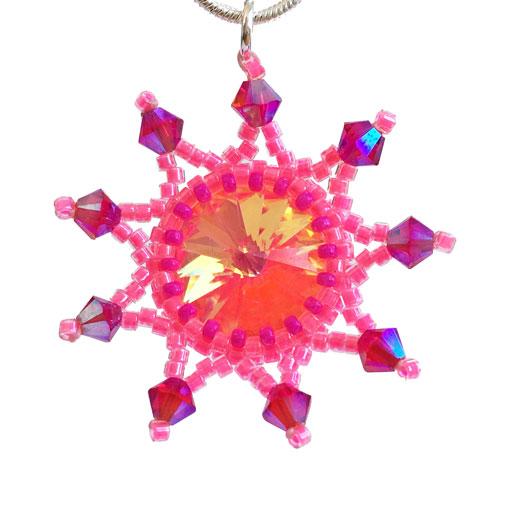 necklace-starburst-neon-pink